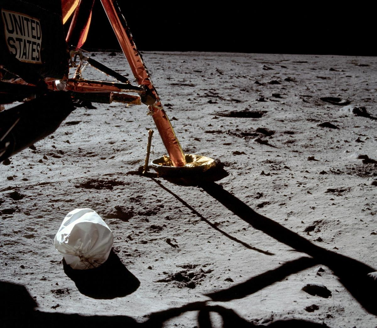 First Photo on the Moon – Most Beautiful Picture