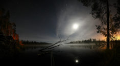 Lake at night, Russia – Most Beautiful Picture