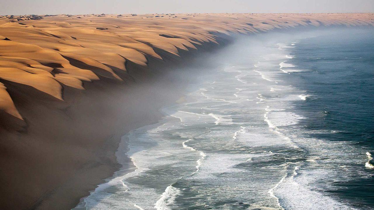 Namib Desert facing the Ocean, Namibia – Most Beautiful Picture