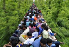 On the train, Bangladesh – Most Beautiful Picture