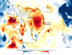 Warm Weather Brings Major Melting to Greenland | MapsRoom