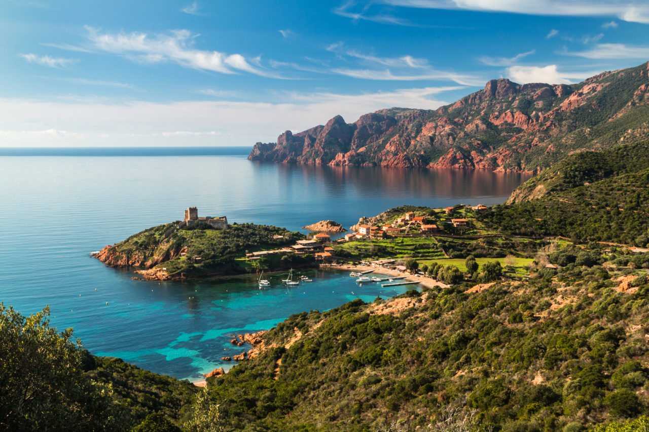 Scandola Nature Reserve, Corsica – Most Beautiful Picture