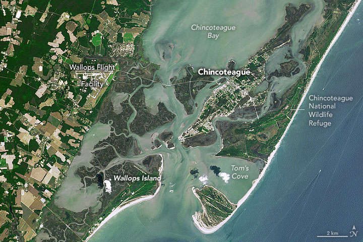Assateague on the Move | MapsRoom