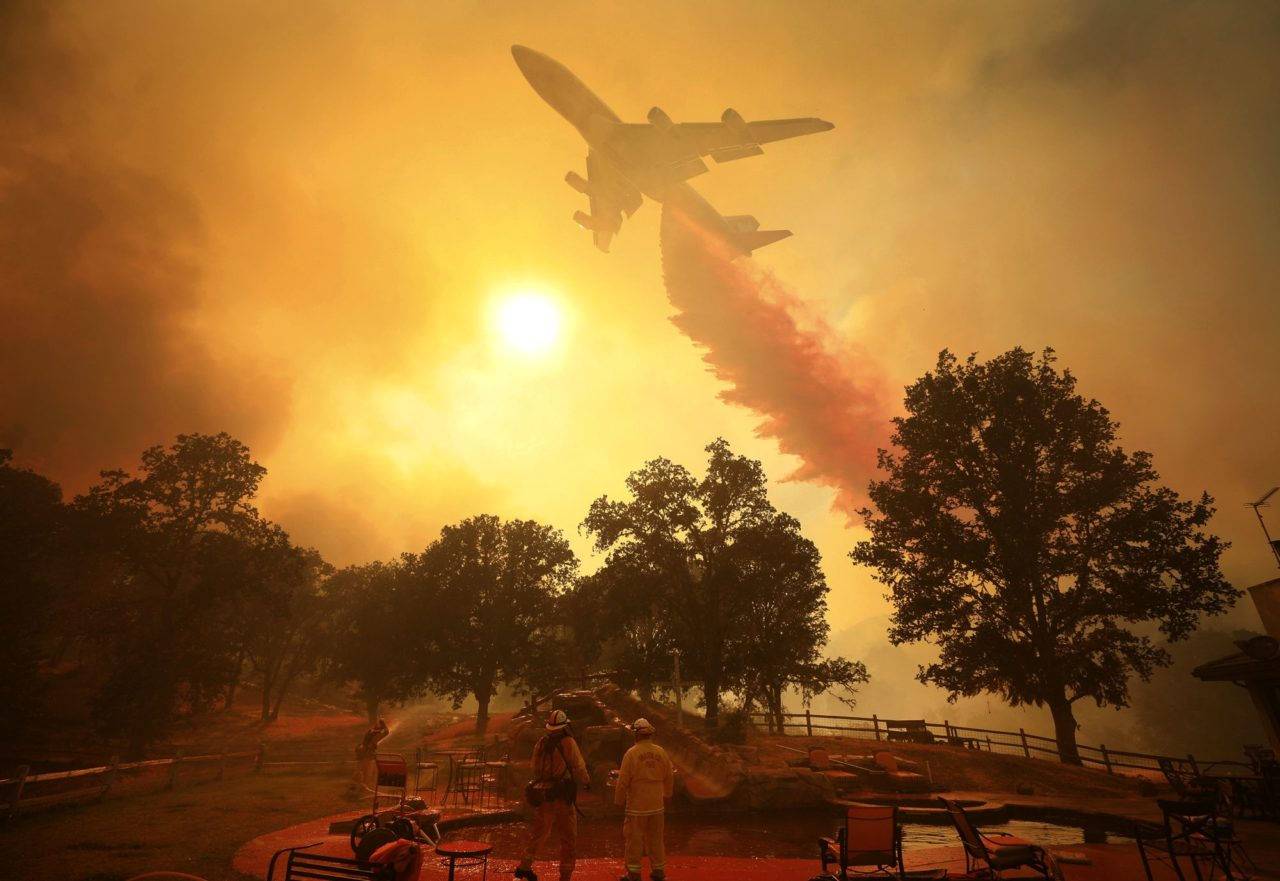 Boeing 747 firefighting, California, August 2018 – Most Beautiful Picture