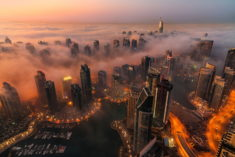 Dubai in evening, UAE – Most Beautiful Picture
