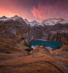 Mountain lake, Switzerland | OutdoorMountain