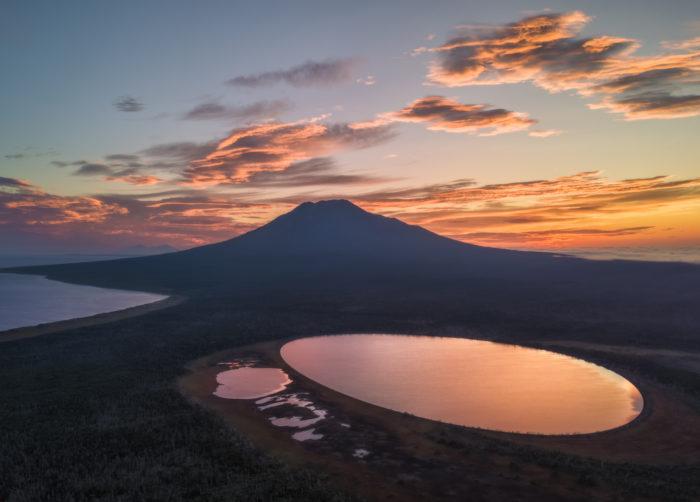 Volcano Stockap, Iturup, Russia   OutdoorMountain