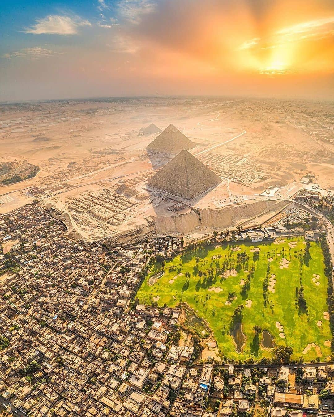 Pyramids of Giza, Cairo, Egypt – Most Beautiful Picture