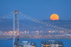 Bay Bridge, San Francisco – Most Beautiful Picture