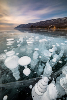 Bubbles, Lake Baikal, Russia – Most Beautiful Picture