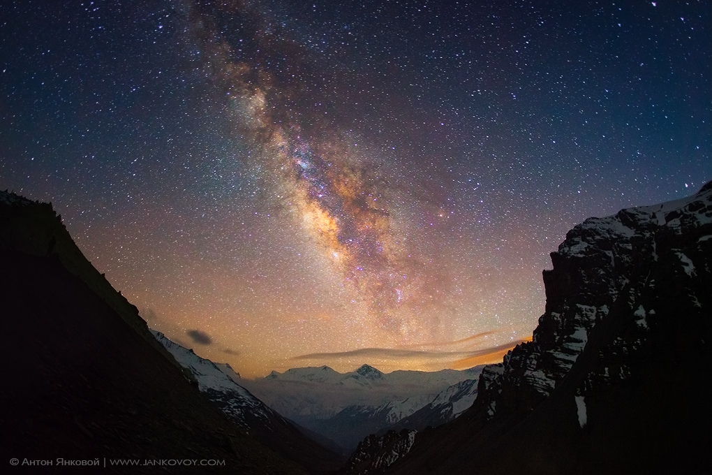 Milky Way above the Himalayas – Most Beautiful Picture
