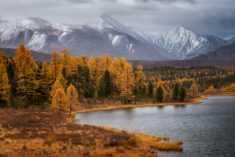 Kidelu Lake, Altai Republic, Russia