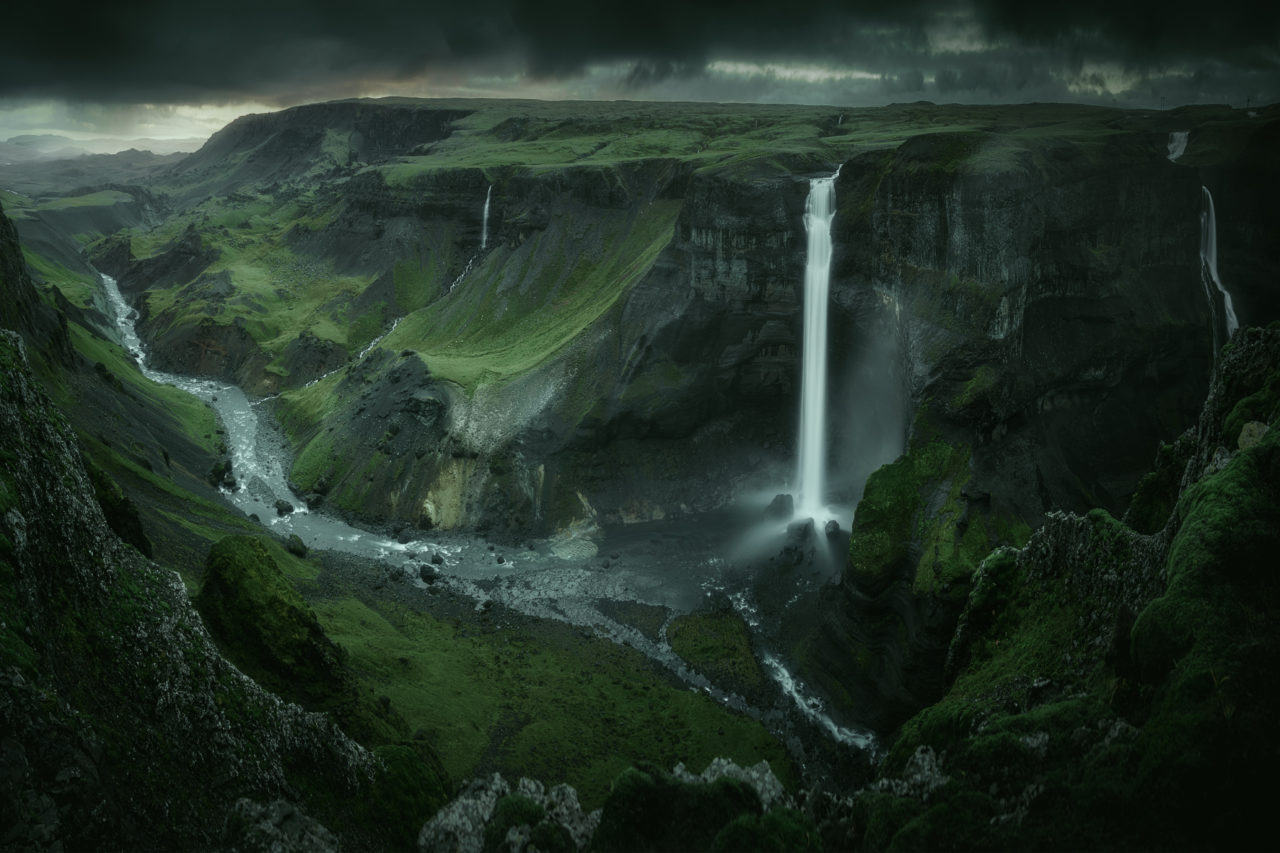 Waterfall, Iceland – Most Beautiful Picture