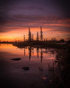 Summer Sunset, Churchill, Canada – Most Beautiful Picture