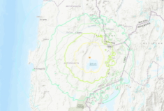 Magnitude 6.8 Earthquake – 48 km SSW of San Pedro de Atacama, Chile