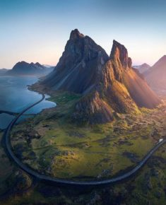 Road till the end of the world, Iceland – Most Beautiful Picture