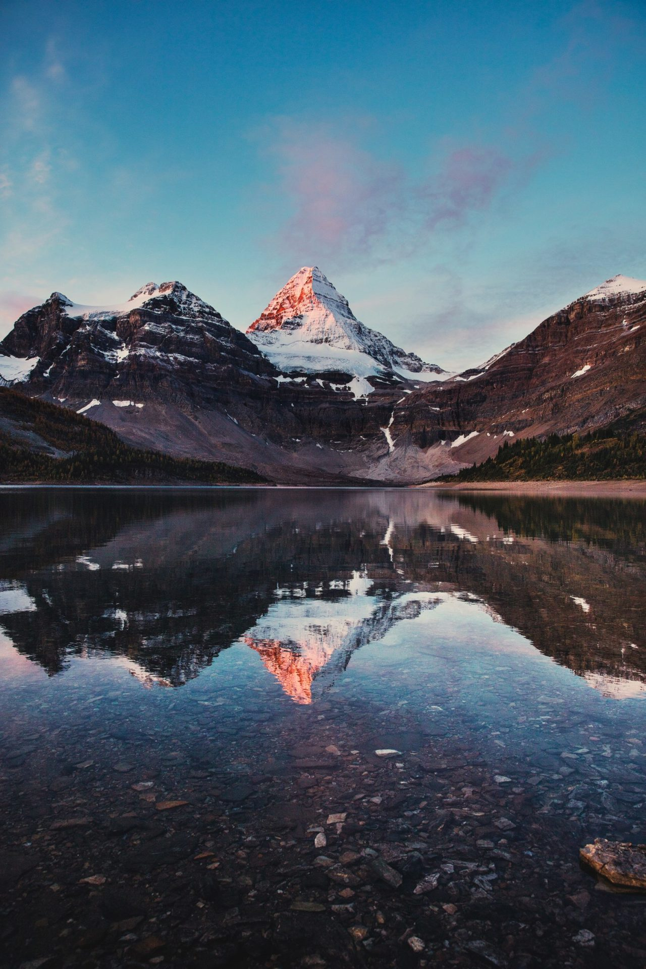 Mount Assiniboine, Canada – Most Beautiful Picture