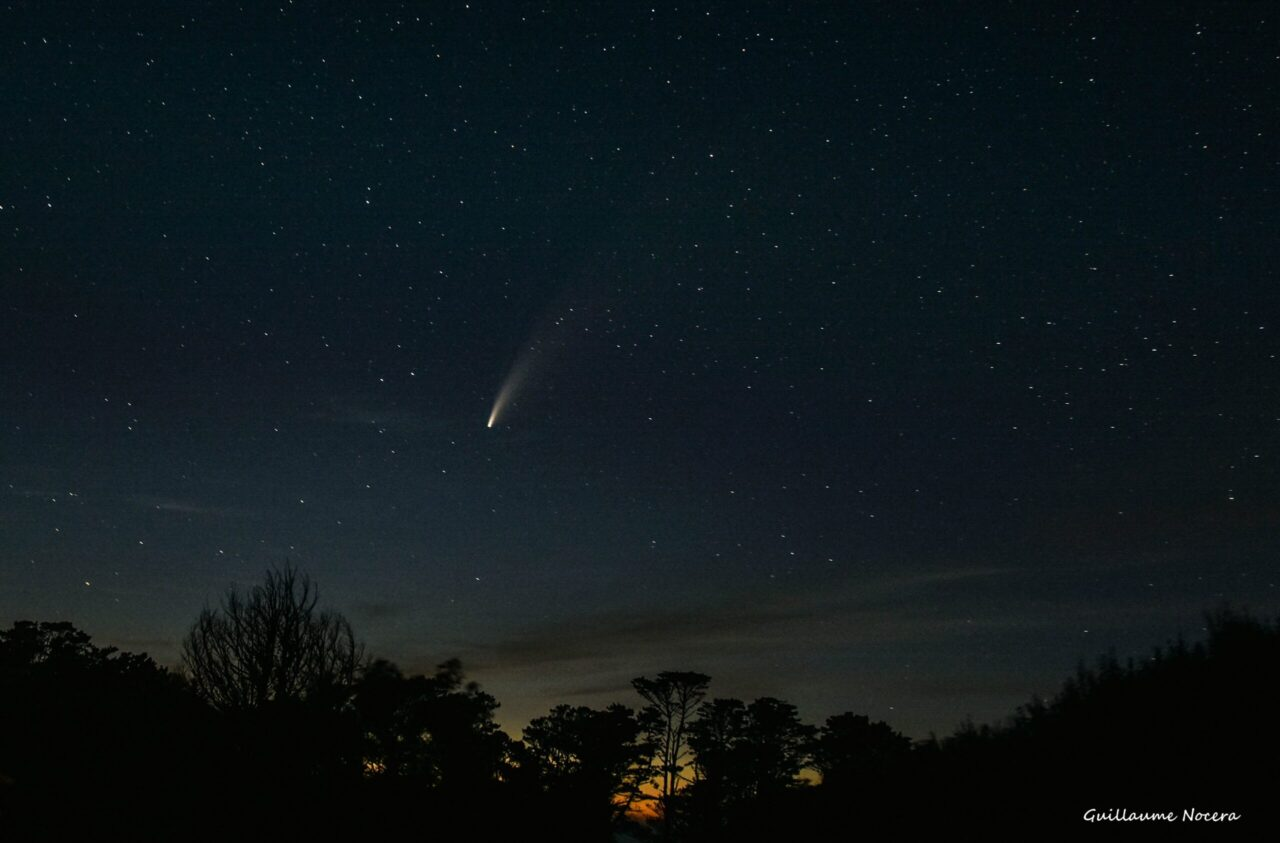 Comet NEOWISE, Brittany, France – Most Beautiful Picture