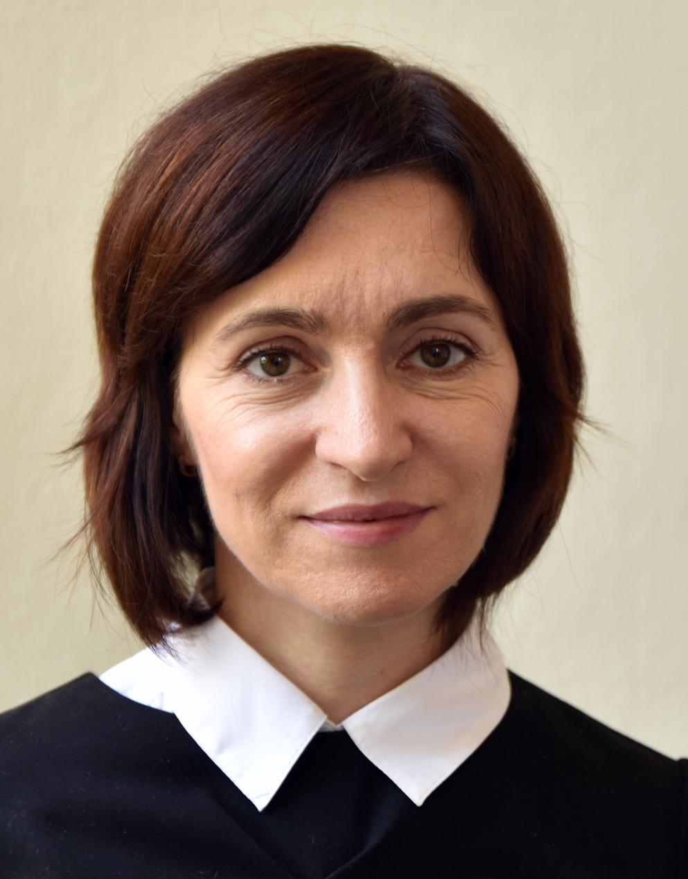 Maia Sandu est élue présidente de la Moldavie • PopulationData.net