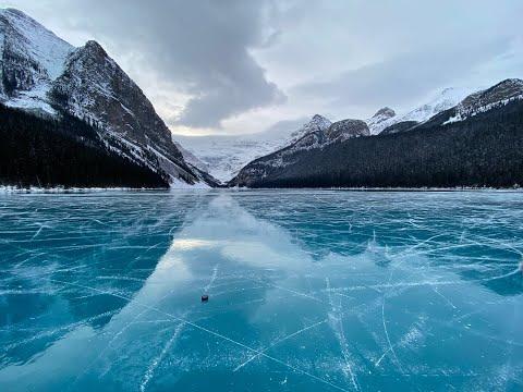 Lake Louise Skating November 2020