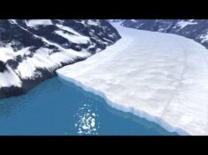 Animation: How a Glacier Melts – YouTube