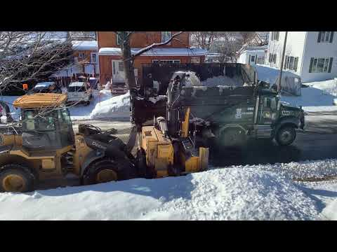 Snow removal in Canada