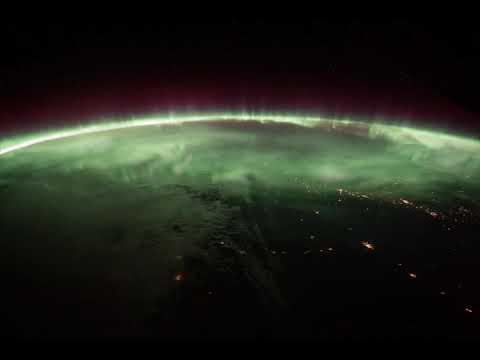 Spectacular Aurora Borealis Over Canada
