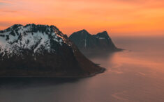Mountains by the Ocean, Norway