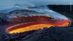 Etna's River of Fire | Wildlife Photographer of the Year | Natural History Museum